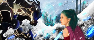 Terra Branford and Magitek (Final Fantasy 6)