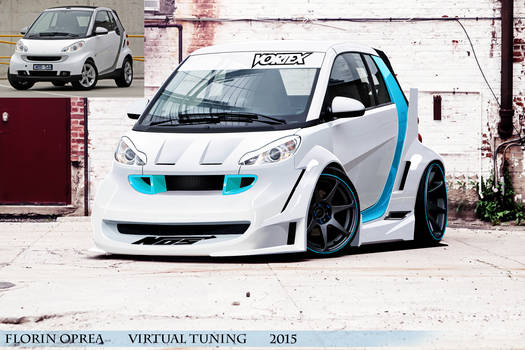 Wide Bodykit Smart 4two