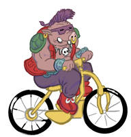 Day 13 Bebob Bicycle Club by MechaDaveO