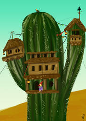 Home in the Cactus