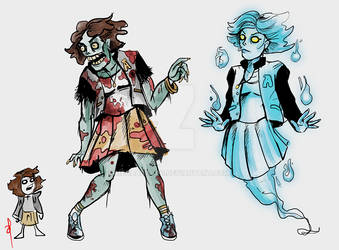 Zombie and Ghost