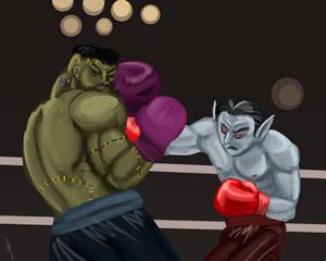 Dracula Fight Night