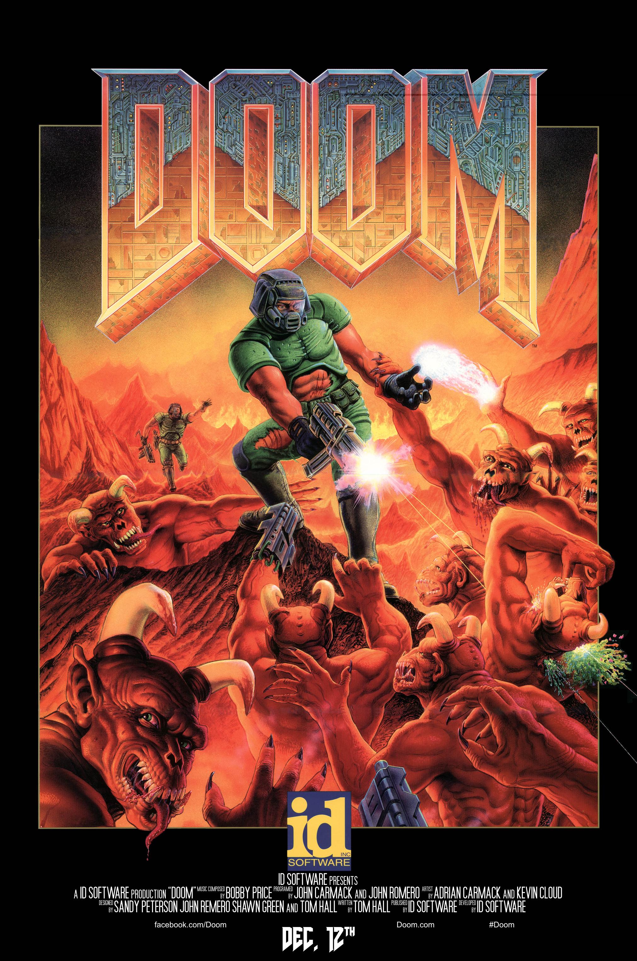 doom movie poster version by imperial96 on deviantart