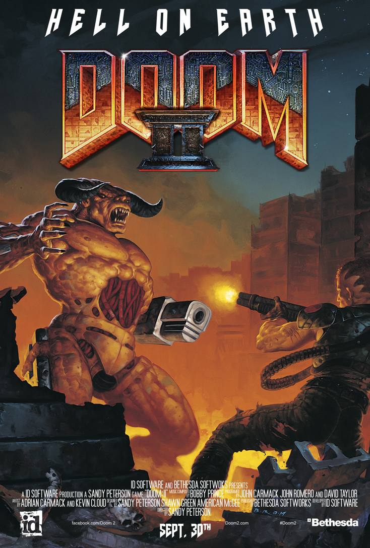doom ii movie poster version by imperial96 on deviantart