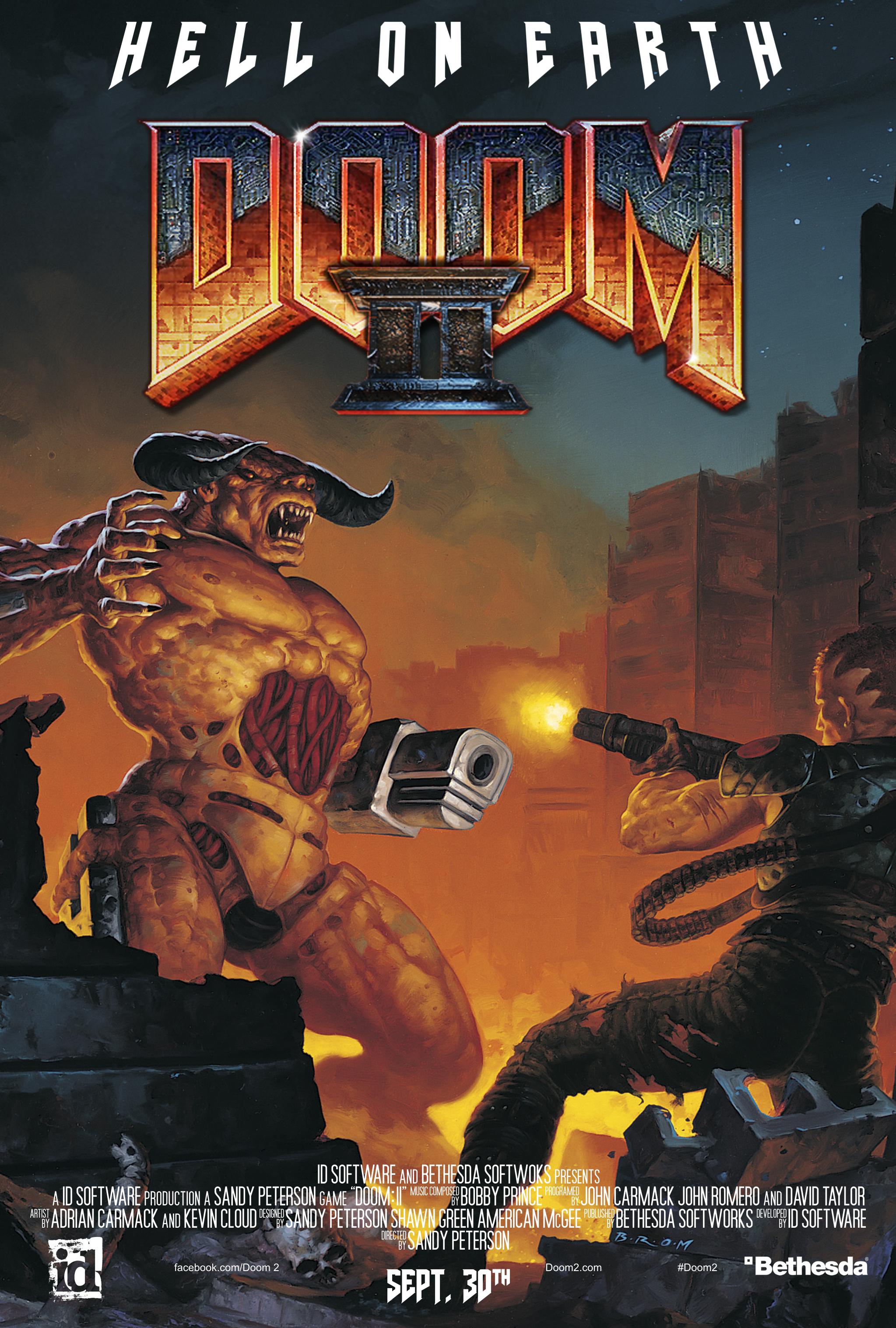 doom ii movie poster version by imperial96 on deviantart