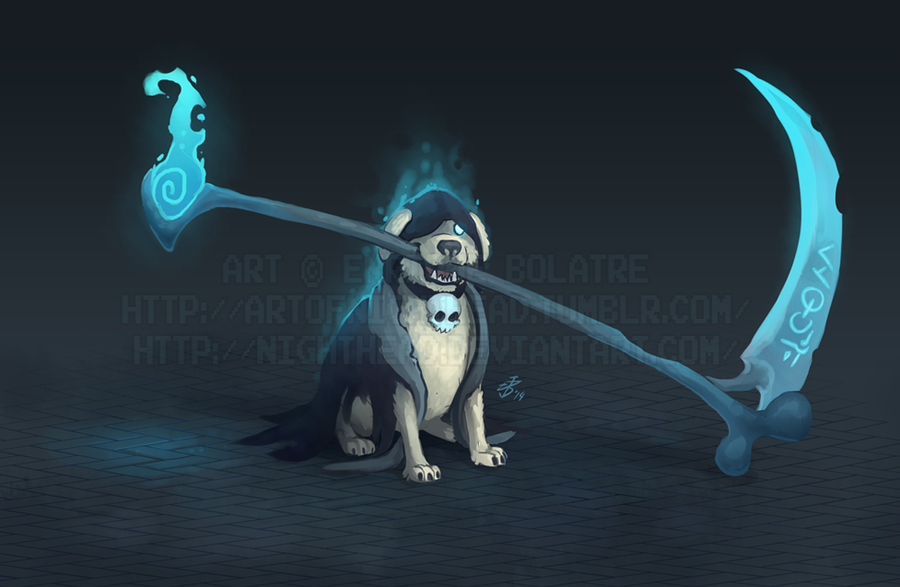 Reaper Dog by NightHead