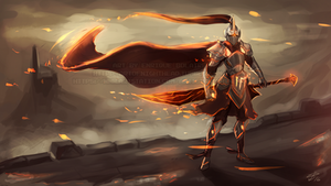 16-04-2016 - Knight of Ash and Cinder by NightHead