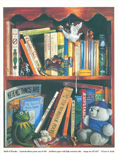 Shelf of Wonder by lsynk