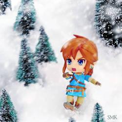 Shredding Snow by SuperMewKitty