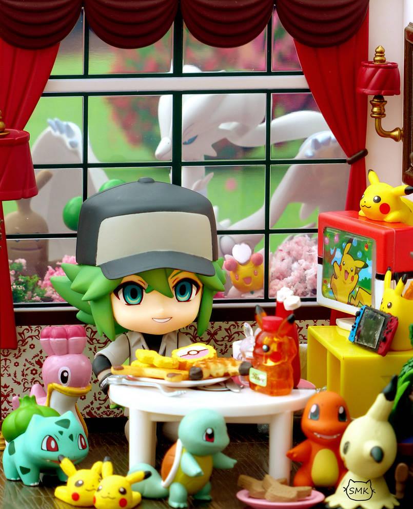 Pokemon Breakfast by SuperMewKitty