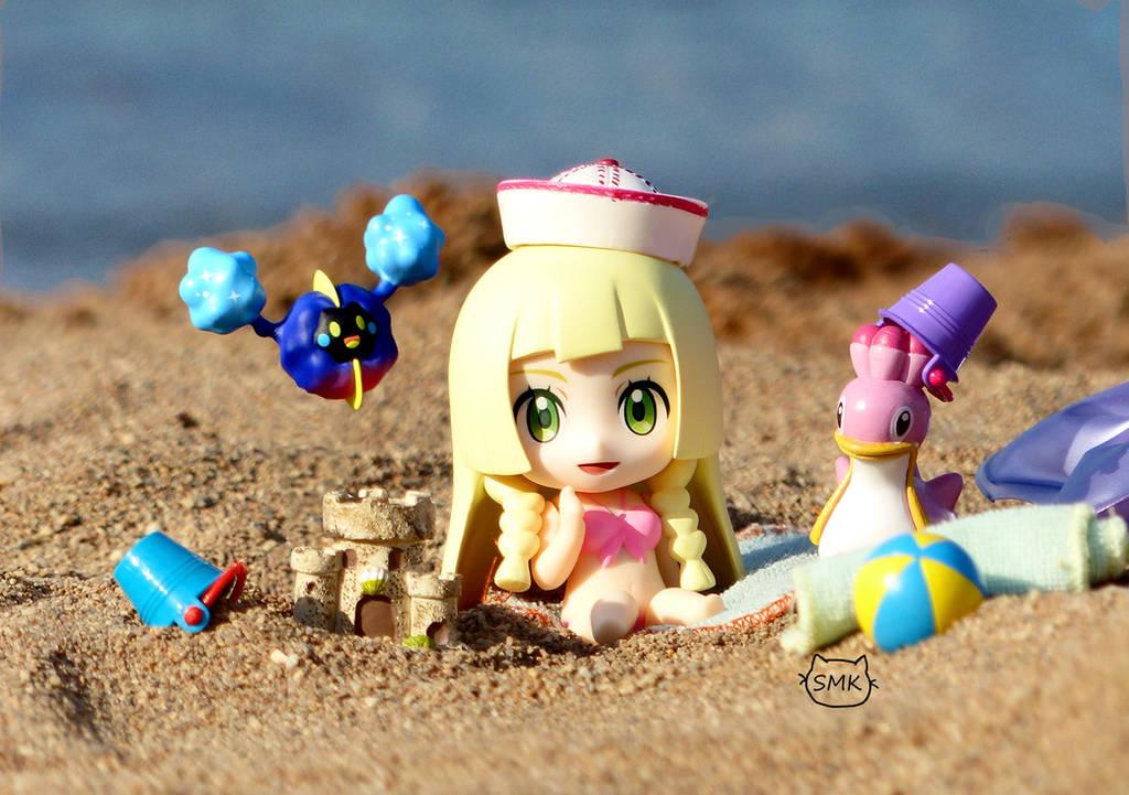 Beach Day! by SuperMewKitty