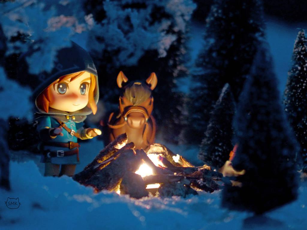 Warming Fire by SuperMewKitty