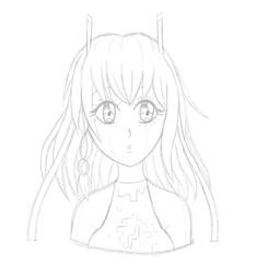 Grace Sketch by MegnRox15
