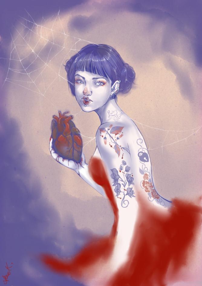 Heart gone so black by Olath124