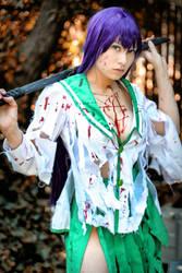 Psycho Saeko by JojoPandaFace