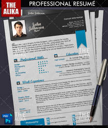 Professional Resume by TheAlikA