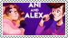 ani and alex F2U pixel by The-Spectral-Force