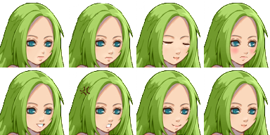 LadyBird's faceset. RPG maker VX Ace by Mad-Indy