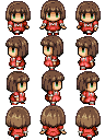 Dora's sprite! For RPG WX Ace by Mad-Indy