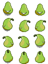 Pear's sprite for RPG VX Ace! by Mad-Indy