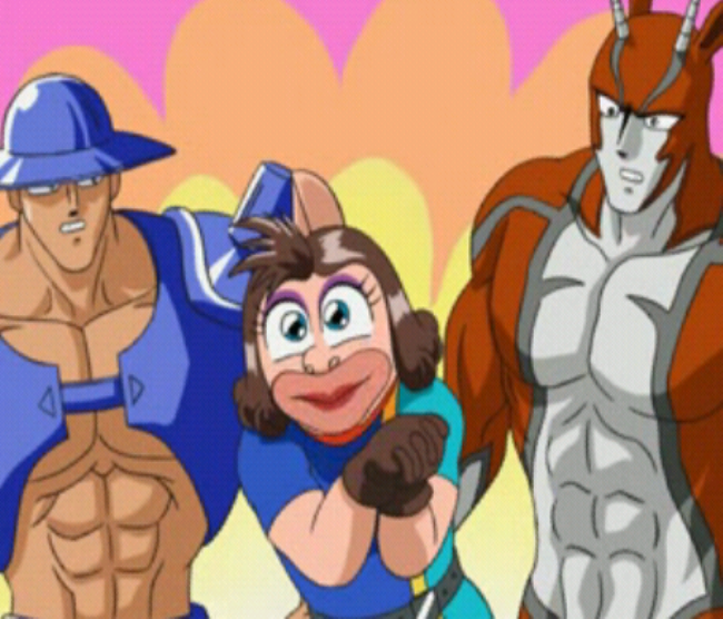 Ultimate Muscle Kid Muscle Unmasked