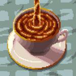 Pixel art Tea