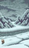 Pixel art Paramina Rift from FF12