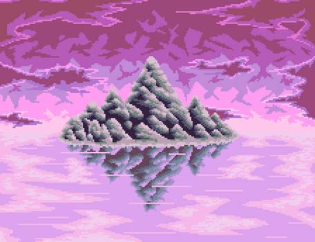 Pixel art Very experimental piece