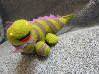 MM - Dinosaur sock keepsake