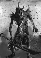 Plaguebearer of nurgle by Sumaki