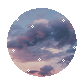 F2U Sky Aesthetic Circle by Moon-Hyenaa