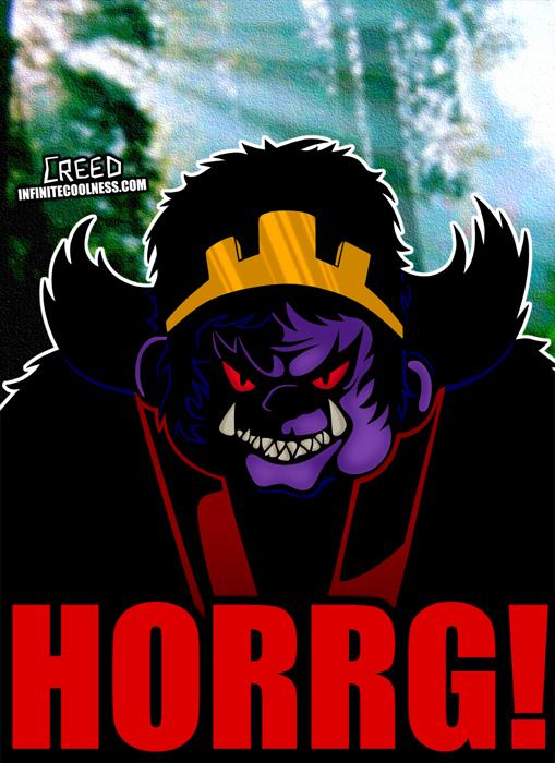Cartoon Villains - 006 - Horrg! by CreedStonegate