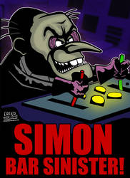 Cartoon Villains - 007 - Simon Bar Sinister! by CreedStonegate