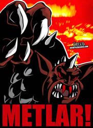 Cartoon Villains - 008 - Metlar! by CreedStonegate