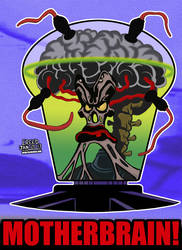 Cartoon Villains - 016 - Motherbrain! by CreedStonegate