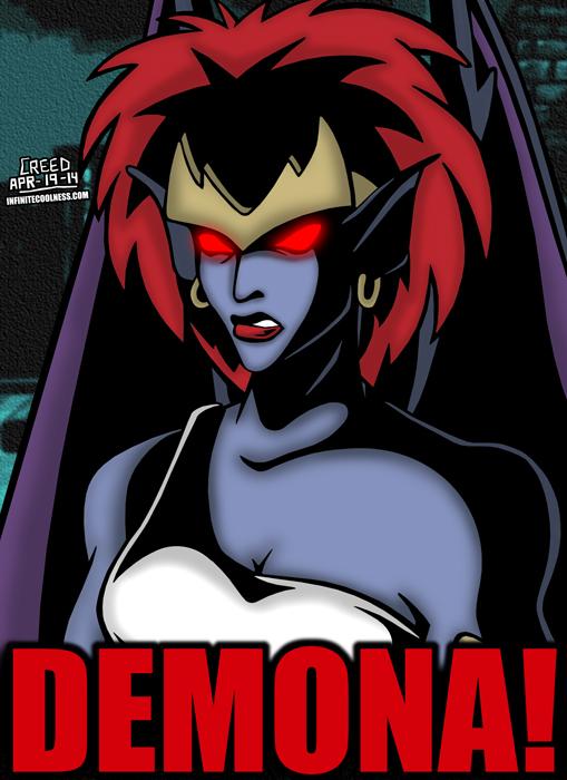 Cartoon Villains - 044 - Demona! by CreedStonegate