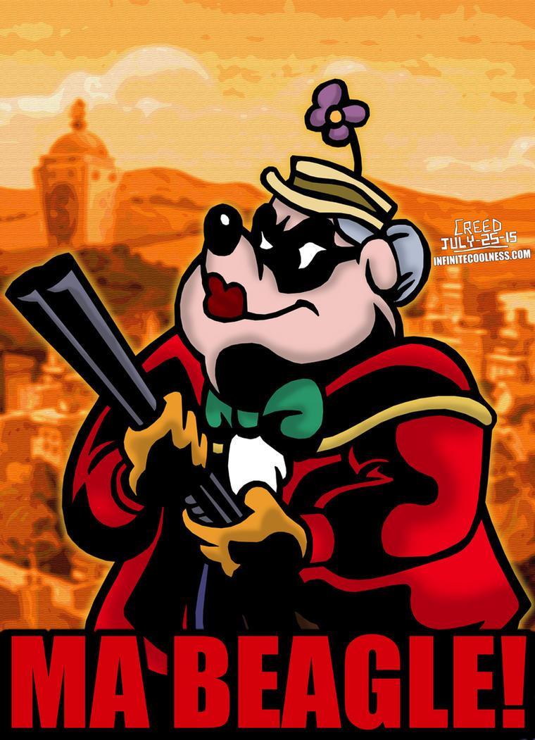 Cartoon Villains - 054 - Ma Beagle! by CreedStonegate