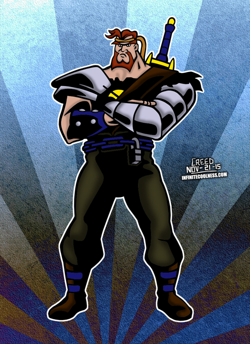 Norman From Mighty Max! by CreedStonegate
