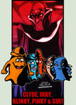 Cartoon Villains - 074 - The Ghosts from Pac-Man!