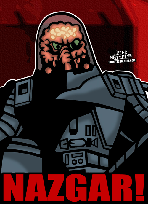 Cartoon Villains - 085 - Nazgar from Robo Force! by CreedStonegate