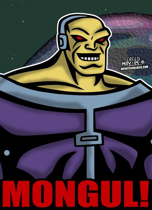 Cartoon Villains - 086 - Mongul! by CreedStonegate