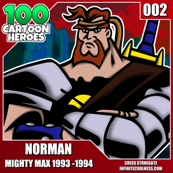 Cartoon Heroes - 002 - Norman From Mighty Max!! by CreedStonegate
