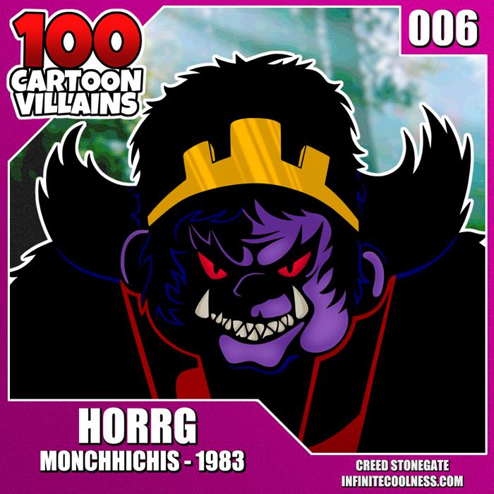 100 Cartoon Villains - 006 - Horrg! by CreedStonegate