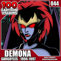 100 Cartoon Villains - 044 - Demona! by CreedStonegate