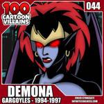 100 Cartoon Villains - 044 - Demona!
