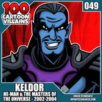 100 Cartoon Villains - 049 - Keldor!