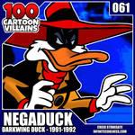 100 Cartoon Villains - 061 - Negaduck!