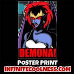 Demona from Gargoyles Retro Cartoon Poster! by CreedStonegate