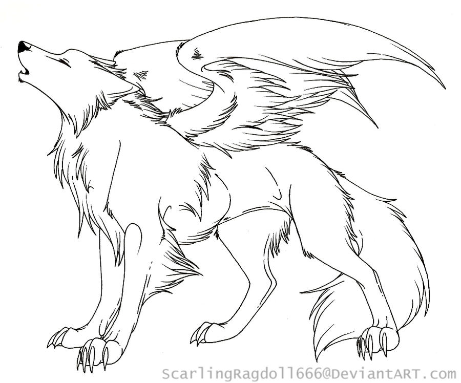 Cute Wolf With Wings Drawing together with  together with  in addition  furthermore Drawings Of Anime Wolves In Love. on scary flying fox
