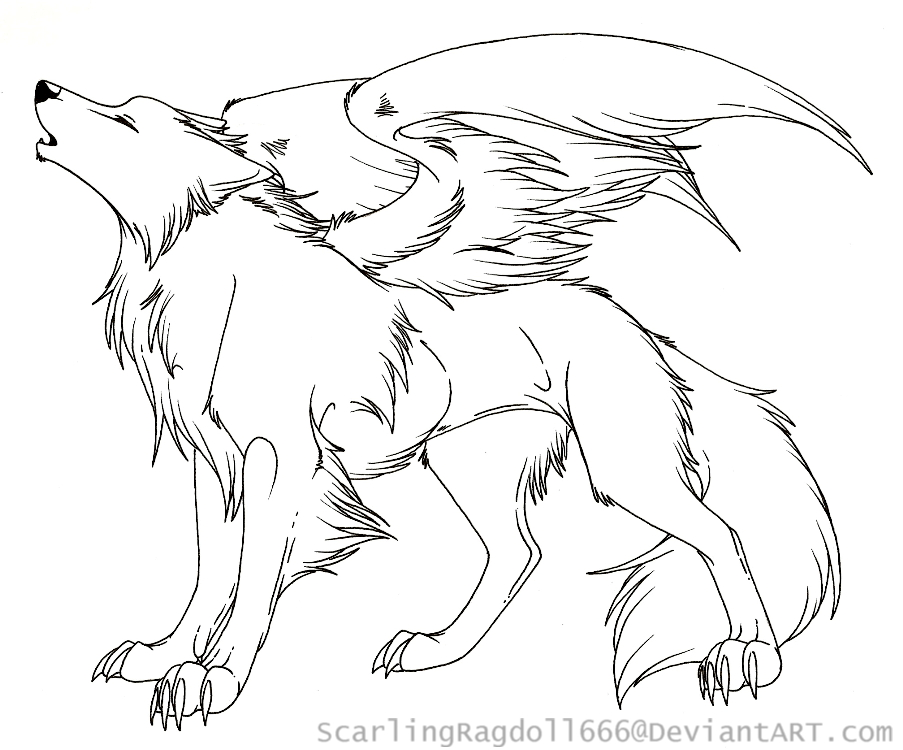 wolf with wings coloring pages Wolf With Wings Coloring Pages wolf with wings coloring pages